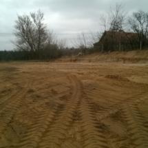 Niwelacja terenu poddomki 3