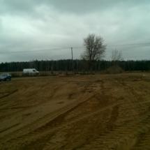 Niwelacja terenu poddomki 4