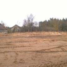 Niwelacja terenu poddomki 7